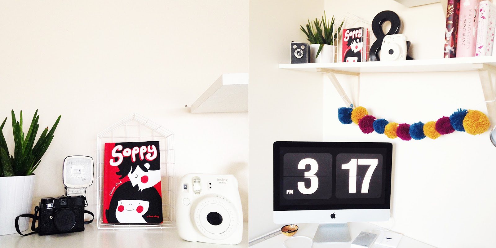 iMac, Office, Shelfie, Shelves, Organised, Lifestyle Blogger, lbloggers