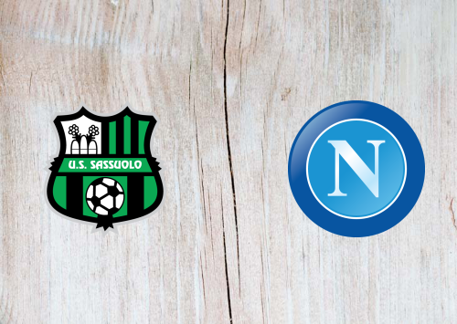 Sassuolo vs Napoli -Highlights 22 December 2019