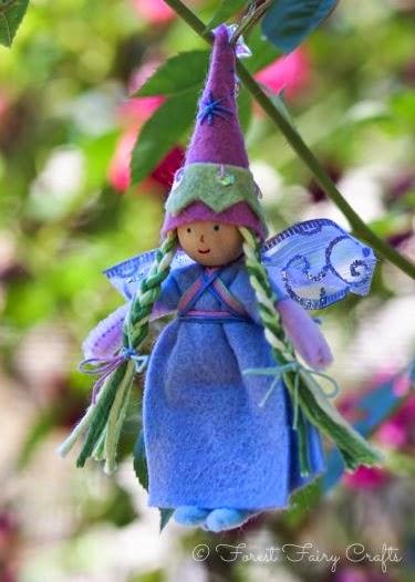 how to make peg doll fairies