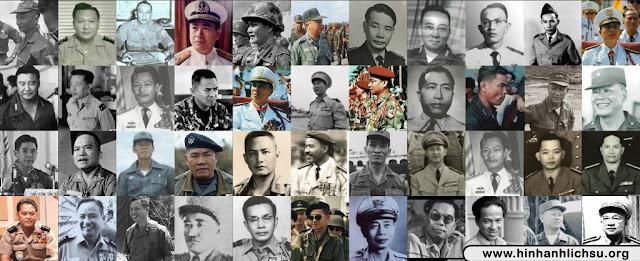 Danh sách Trung tướng Việt Nam Cộng hòa