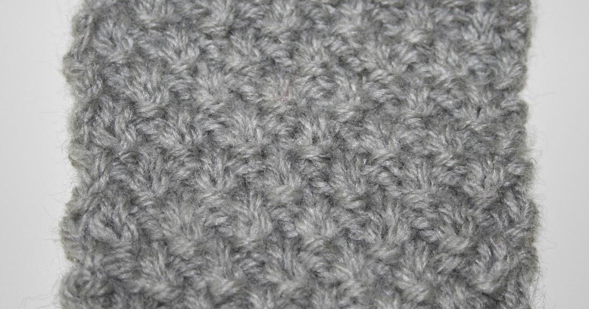 Needles and Wool: Stitchy Saturday: Irish Moss Stitch