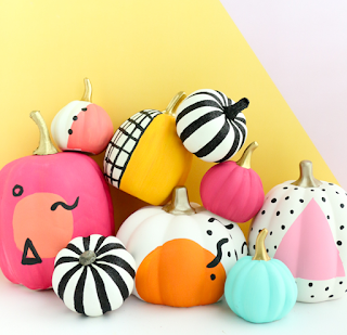 Colorful Halloween Pumpkins