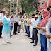 डाक विभाग के कर्मियों का वैश्य एकता परिषद ने किया सम्मान