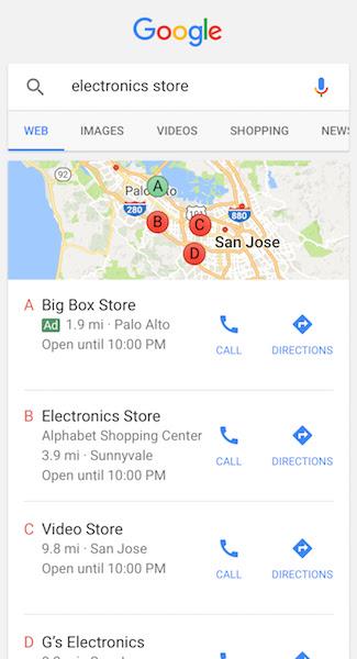 GoogleMAP地圖廣告