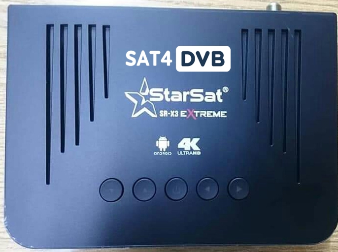 Starsat Sr X3 Pro 4k
