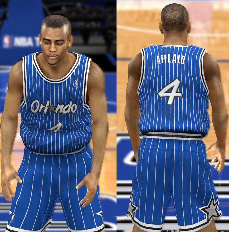 457ee6945 ... Patch 1 A full set of modded NBA 2K14 jerseys for the Orlando Magic.  The pack includes ...