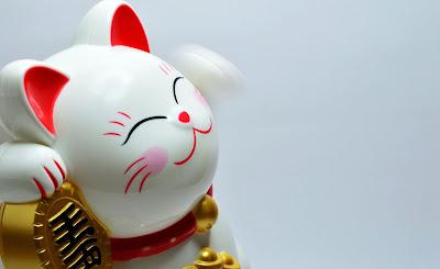 La leyenda de maneki-neko, el gato de la suerte japonés