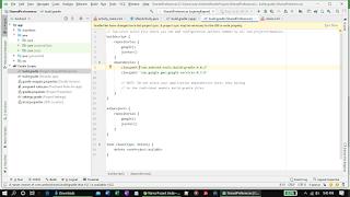 Memasukkan library firebase ke build.gradle project