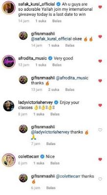 Cara di Komentari oleh Akun Verified di Postingan Instagram Kita