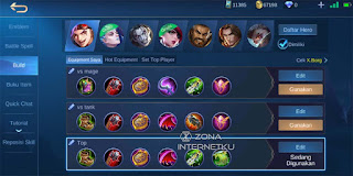 Build X.Borg is the sickest and strongest in Mobile Legends Game