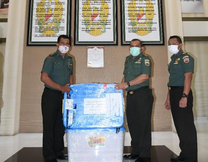 Ketua Umum Persit KCK Beri Bantuan Multi Vitamin Bagi Petugas Medis RST Kodam I/BB