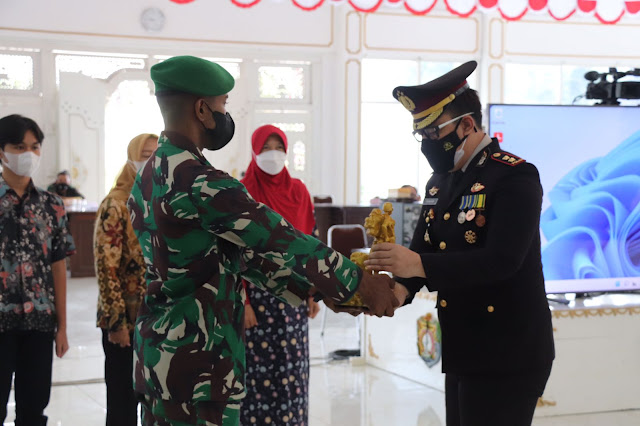 HUT TNI ke 76 Dandim, Kapolres dan Bupati Tegaskan Jaga Keharmonisan Demi Kemajuan Kendal