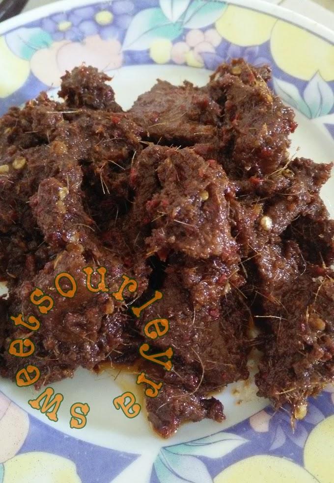 Resepi Daging Dendeng Sedap Memikat