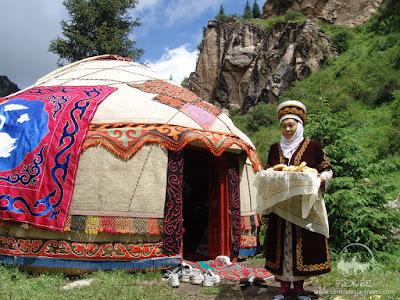 Kyrgyz yurt