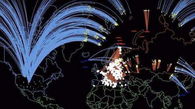simulação de guerra nuclear