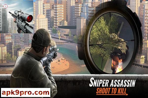 Sniper 3D Gun Shooter v3.5.3 Apk + Mod (File size 100 MB) for Android
