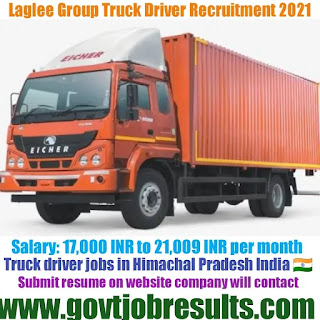 Lalgee Group Heavy Truck Driver Recruitment 2021-22