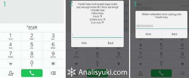 Cara Transfer Pulsa Telkomsel 2019