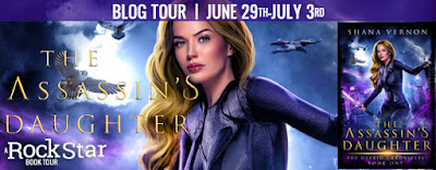 Blog Tour with Giveaway:  The Assassin's Daughter by Shana Vernon