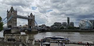 Vistas desde la Torre de Londres o Tower of London.