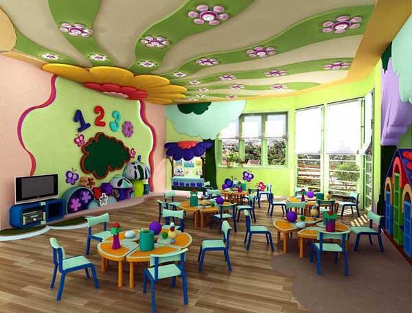 Thiết kế lớp mầm non chung cư Booyoung Vina