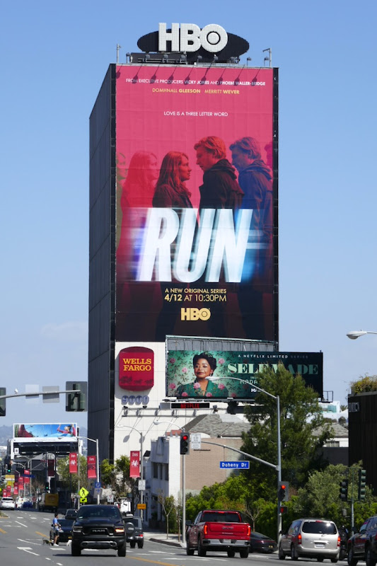 Giant Run HBO series billboard