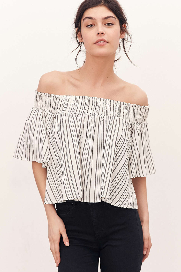 Off The Shoulder Top Urban Outfitters