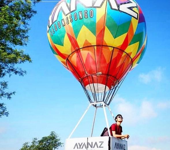 spot foto balon udara ayanaz