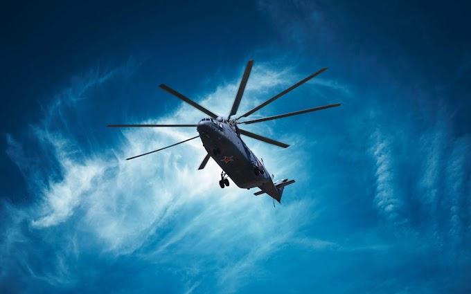 Papel de Parede Helicóptero Militar