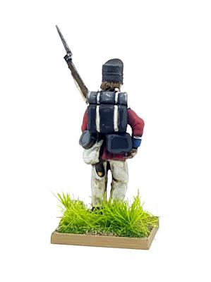 28mm British Line Infantry Waterloo