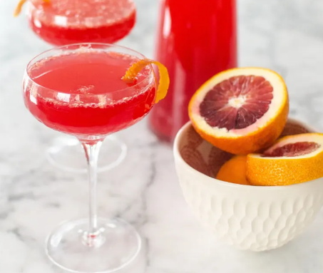 Blood Orange Mimosa Pitcher Cocktail