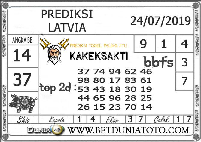 "Prediksi Togel ""LATVIA"" DUNIA4D 24 JULI 2019"