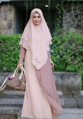 Model Baju Gamis Syar'i Terbaru 2019 Laris