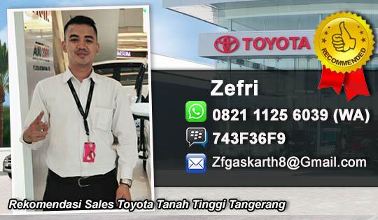 Rekomendasi Sales Toyota Tanah Tinggi Tangerang