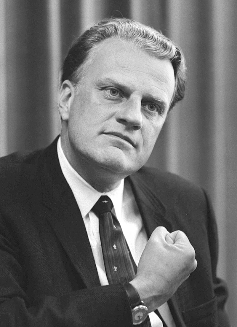 Billy GRAHAM (USA,1918-2018)