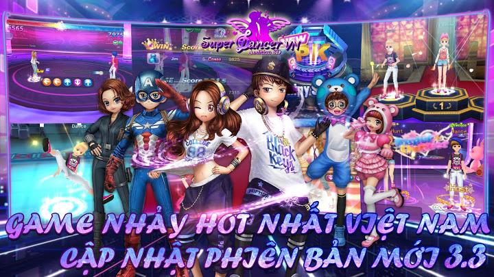 Super Dancer VN Mod