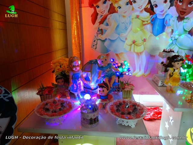 Festa infantil Princesas Baby Disney