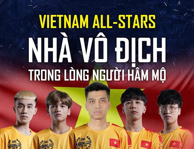 Việt Nam All Star xuất sắc lọt Top 4 PUBG Nations Cup 2019