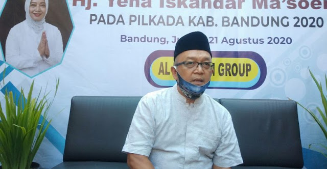 Pilbup Bandung 2020, Yena Didukung Al Ma'soem Group