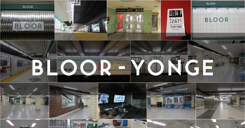 Photo gallery for the TTC's Bloor-Yonge subway station in Toronto