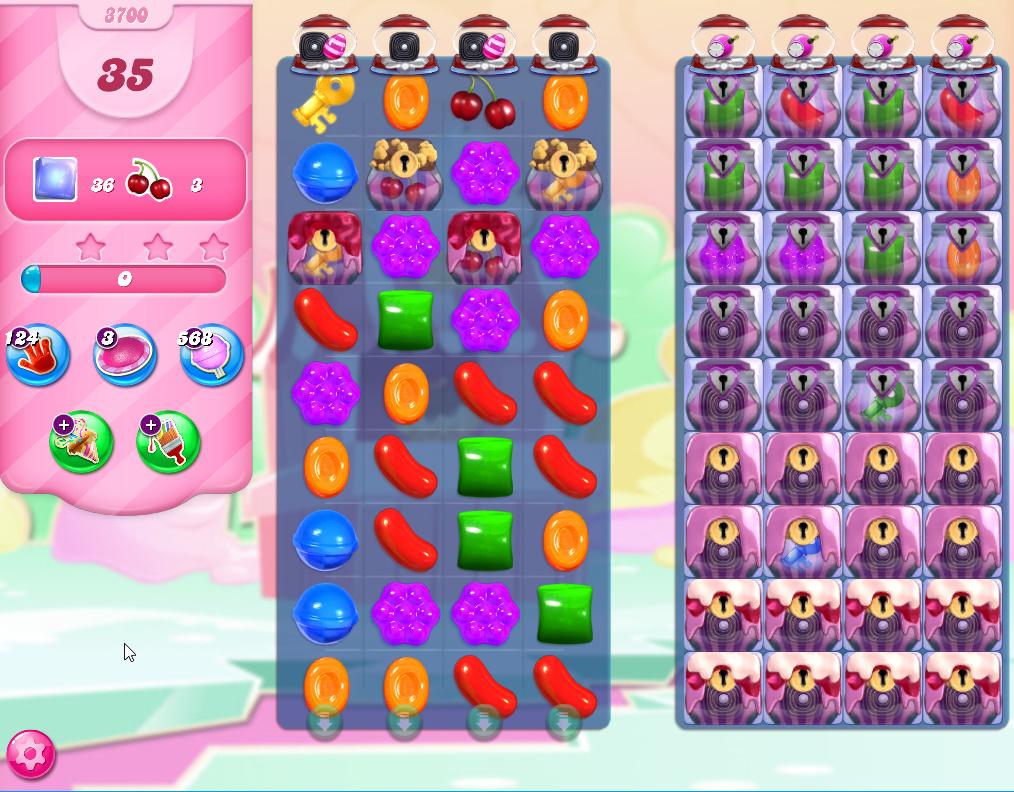 Candy Crush Saga level 3700