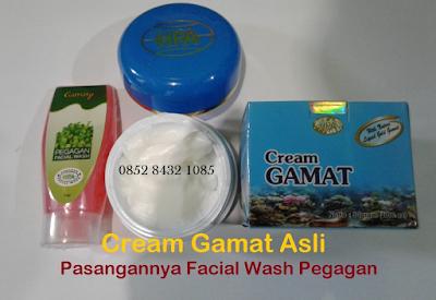 Cream Gamat Emas Obat Penghilang Jerawat Perawat Wajah Herbal Alami BPOM Resmi
