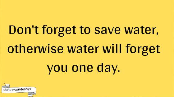 Save Water Slogans   Save Water Poster   Saving Water Quotes