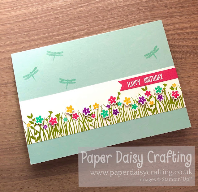 Field of Flowers Stampin Up