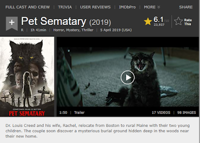 Pet Sematary 2019, Film Horror yang Biasa!