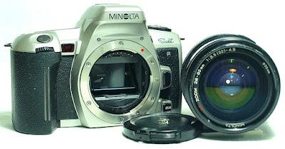Minolta Alpha Sweet (Silver) Body #808, Minolta AF Zoom 28-65mm 1:3.5~4.5 #005