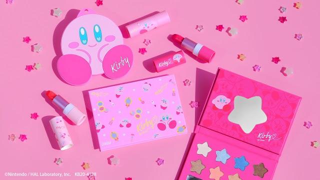 Kirby x Lovisia Make-Up Pretty Pink Collection