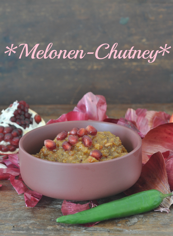 a surprisingly different variation of an Indian classic: Melon Chutney (naturally glutenfree)