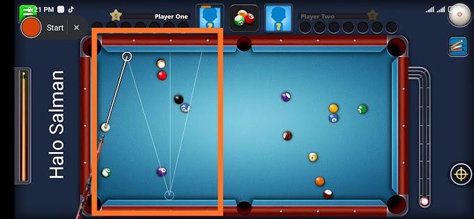 فێڵێکی نوێ بەم بەرنامەیە بۆ یاری 8 ball pool  درێژکردنەوەی سەهمەکە
