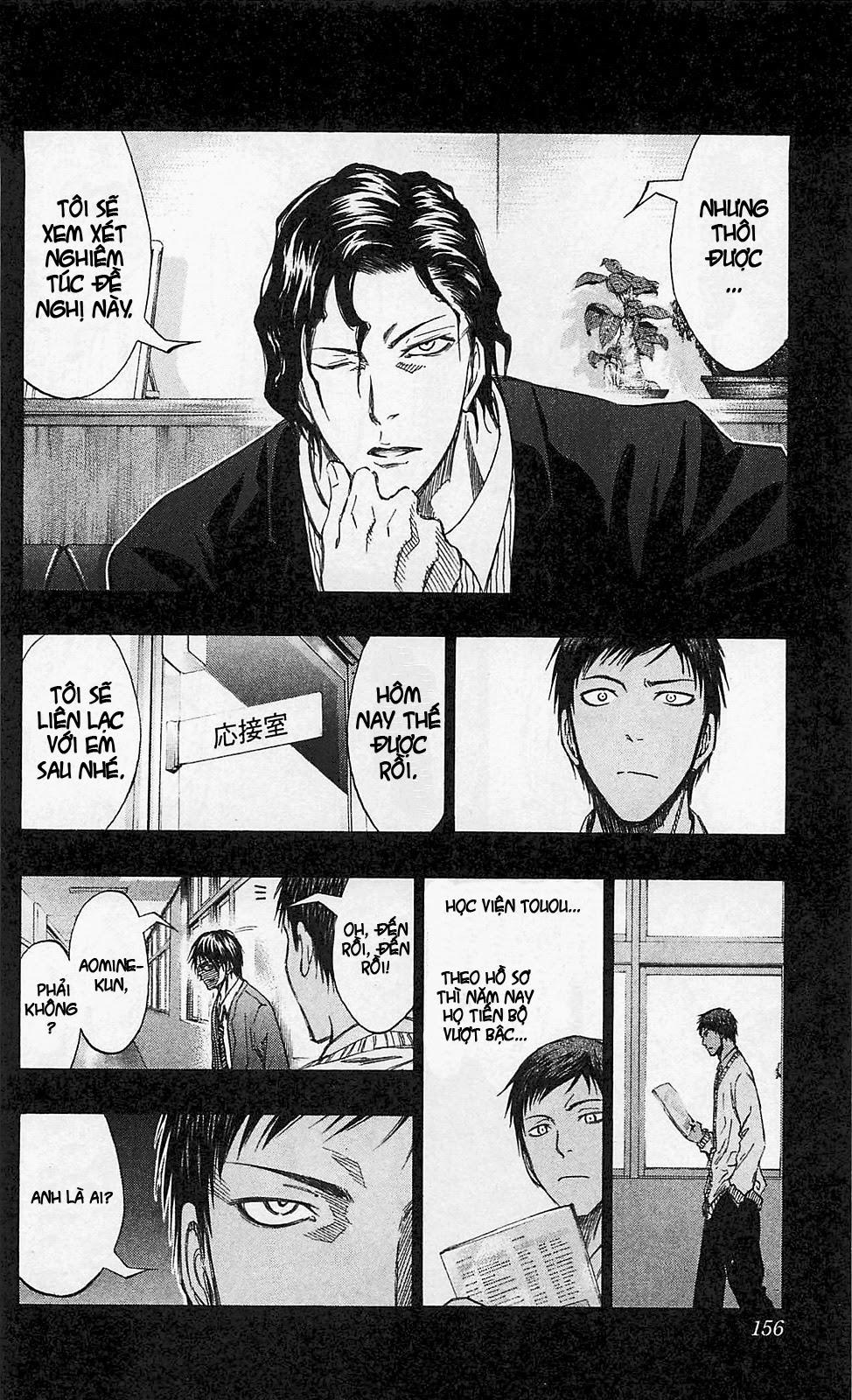 Kuroko No Basket chap 134 trang 10
